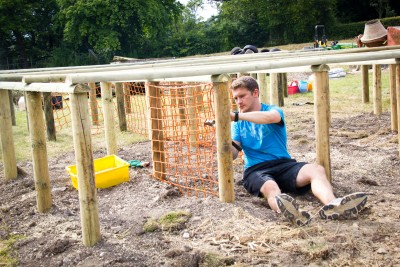 Building the Mudder's Maze